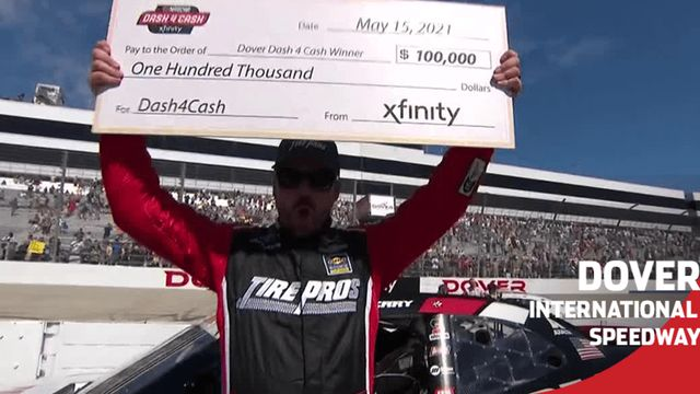 Josh Berry wins Dash 4 Cash $100K at Dover