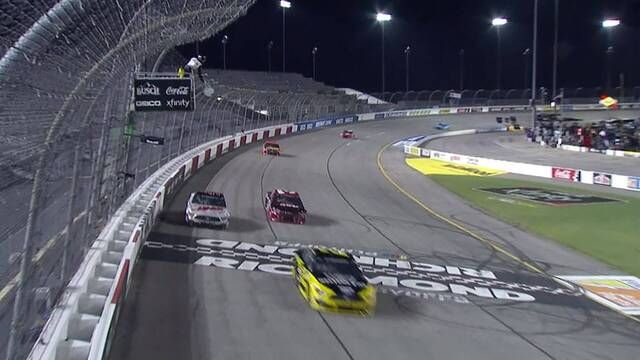 Keselowski, Dillon battle lapped traffic fighting for Stage 2 win