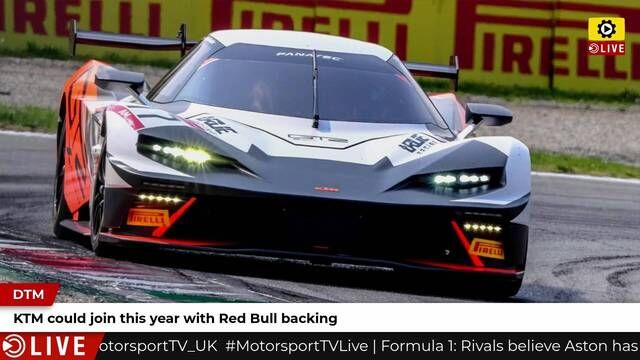 KTM could join DTM this year