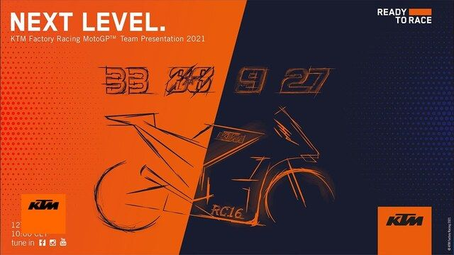 KTM Factory Racing MotoGP Team Presentation 2021 | KTM