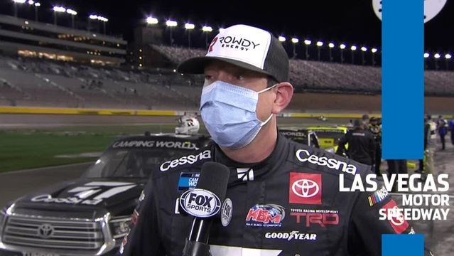 Kyle Busch after John Hunter Nemechek win: 'Pretty cool to come home one, two'