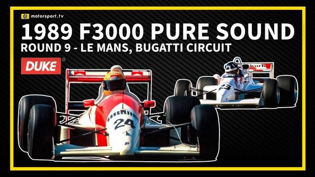 Le Mans 1989: F3000 pure sound