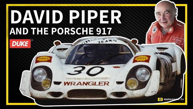Le Mans: David Piper on the Porsche 917