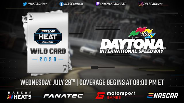 En Vivo: eNASCAR Heat - Pro League - Wildcard Race