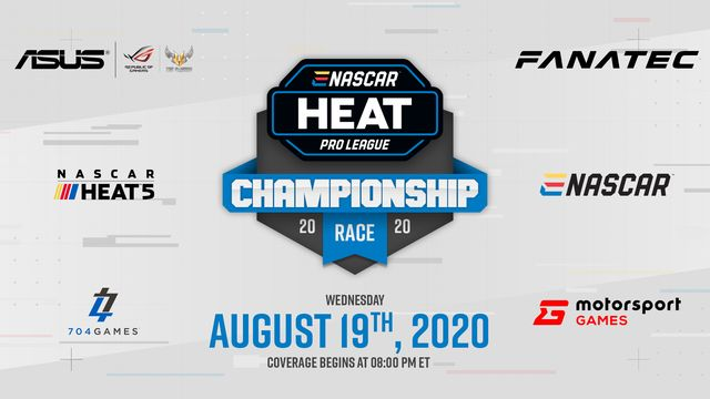 Live: eNASCAR Heat Pro League - Finale