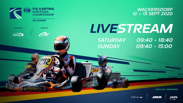 Live: FIA Karting European OK/Junior Championship - Wackersdorf: Sunday