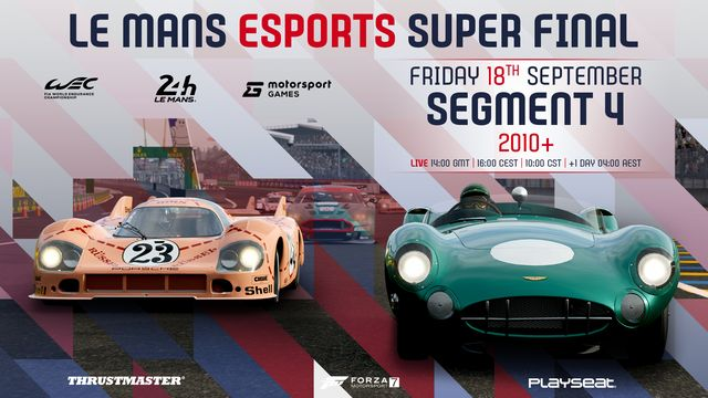 Live: Le Mans Esports Series Super Final - Segment 1