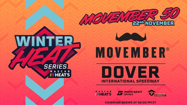 Live: NASCAR Heat Winter Series - Movember 50