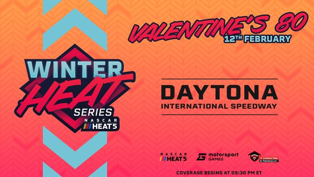 Live: Winter HEAT Series Valentine's 80 - Daytona International Speedway