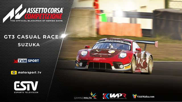 Live: WPR - GT3 at Suzuka Casual Race