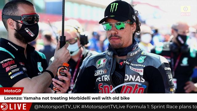 Lorenzo: Yamaha not treating Morbidelli well with old bike