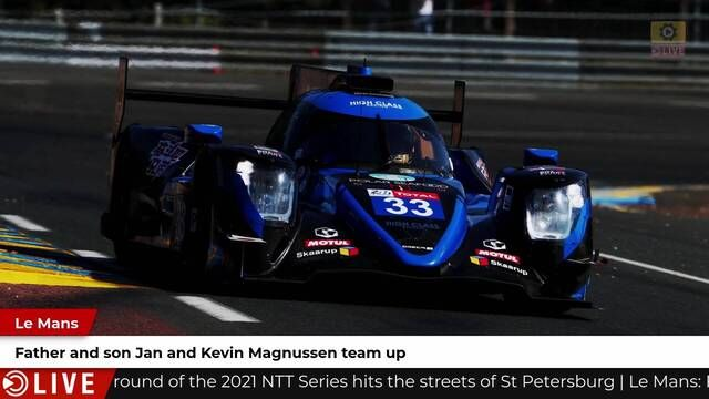 Magnussens to race at Le Mans