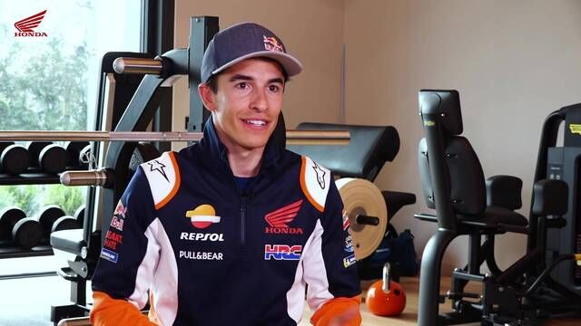 Marc Marquez continues his recovery