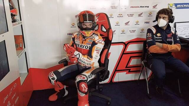 Marc Marquez is terug