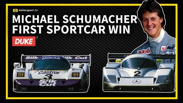 Michael Schumacher first World Sportscar win - 1990 WSC Mexico