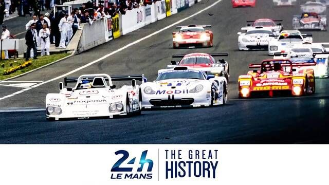 Michele Alboreto wins the 1997 24 Hours of Le Mans