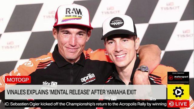 Yamaha MotoGP exit was a mental release - Maverick Vinales