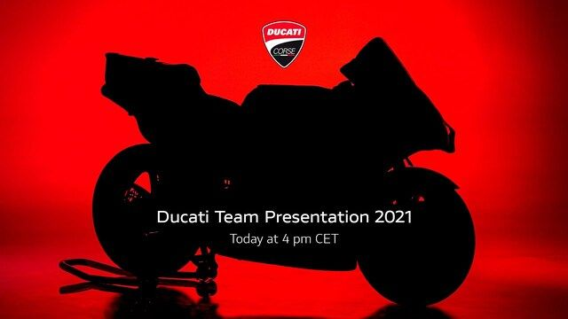 MotoGP 2021: Ducati-Launch re-live