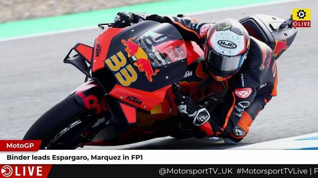 MotoGP: Binder tops FP1
