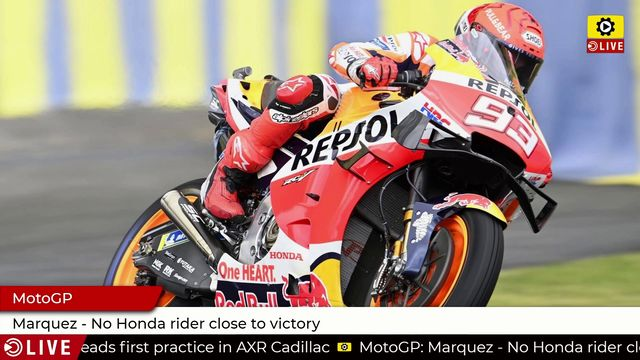 MotoGP: Marquez - No Honda rider close to victory
