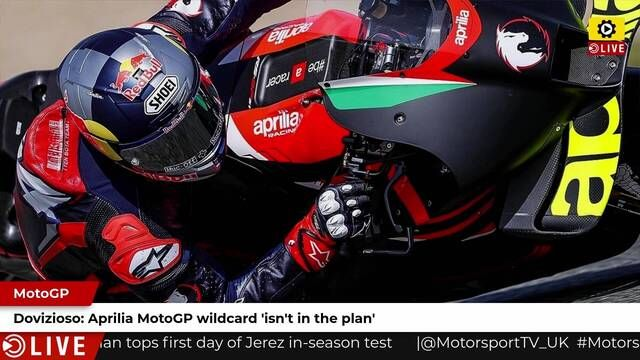 MotoGP: No wildcard ride for Dovizioso