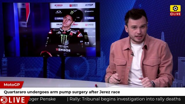 MotoGP: Quartararo undergoes arm pump surgery after Jerez race
