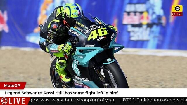 MotoGP: Rossi still has fight in him - Schwantz
