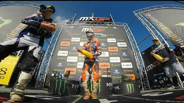 MXGP of Switzerland - Podium Reactions