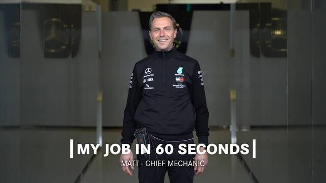 My Job in 60 Seconds | Chief Mechanic