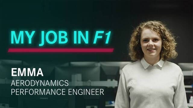 My Job in F1: Emma | Aero Performance Engineer
