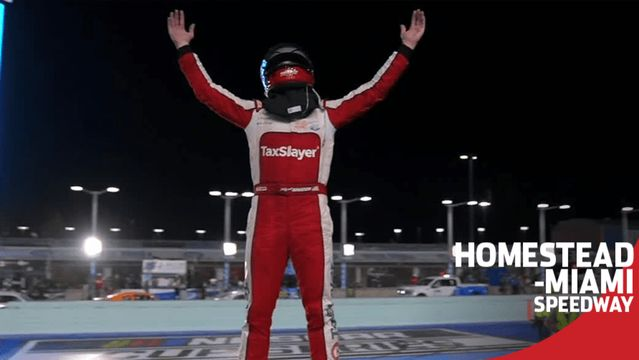 Myatt Snider after Homestead win: 'We did it!'