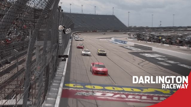 NASCAR Overtime at Darlington ends in an Allgaier win