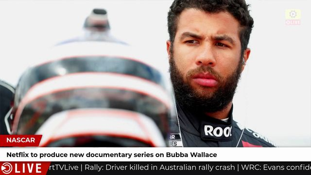 Netflix to produce Bubba Wallace documentary
