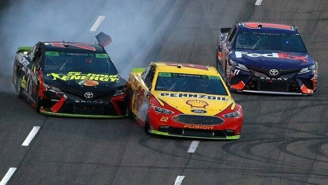 Offense or defense? Cup drivers discuss the bump-and-run move