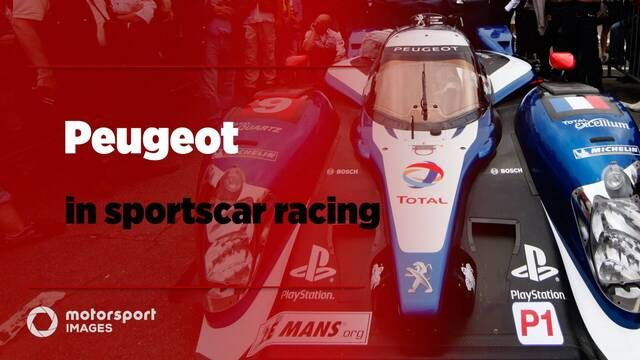 Peugeot in sportscars