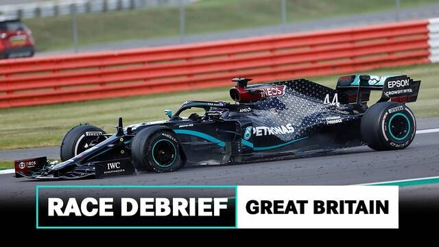 Punctures, Pit Stops, Vibrations & More | 2020 British GP F1 Debrief