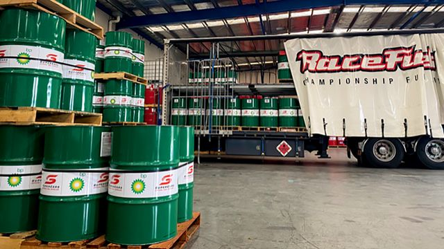 Racing fuel making the journey to the Bathurst 1000