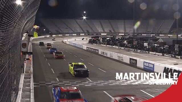Rain delays Xfinity Series race at Martinsville Speedway