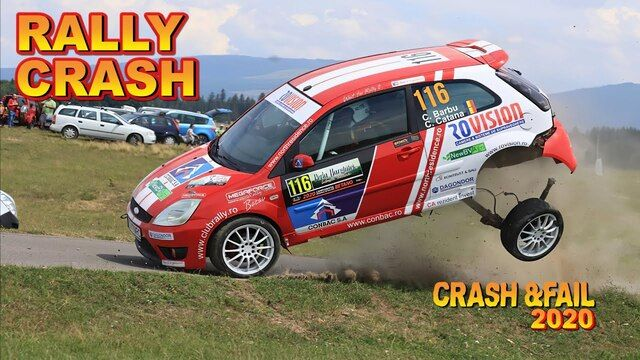 Rally crash and fail 2020