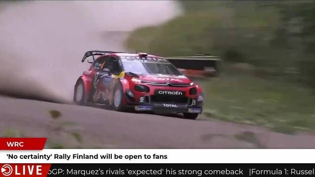 Rally Finland fan uncertainty