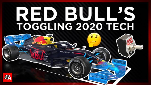 Red Bull Can't Decide On Its New Tech?