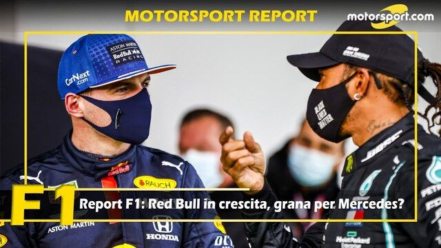 Report F1: Red Bull in crescita, grana per Mercedes?