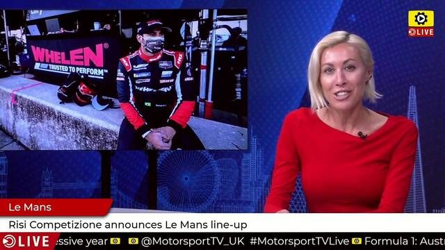 Risi announces Le Mans line-up, will race at Monza