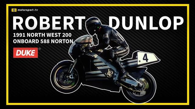 Road Racing: Onboard with Robert Dunlop - 1991 North West 200