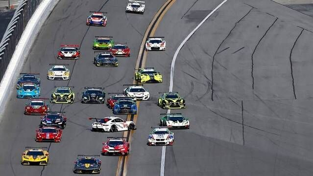 24h Daytona: Chaos am Start