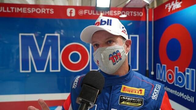 Rubens Barrichello on Interlagos