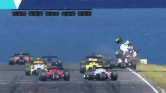 S5000: Nathan Herne's Scary First Lap Crash