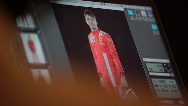 Scuderia Ferrari Filming Day Backstage Footage