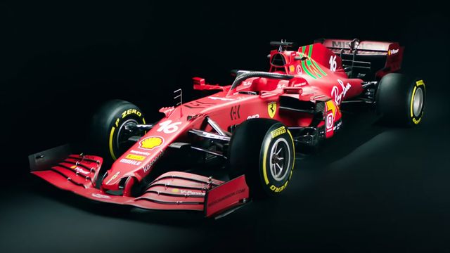 Scuderia Ferrari Unveils the SF21