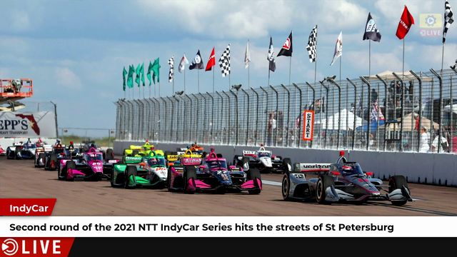 Second round of 2021 NTT IndyCar Series kicks off in St Petersburg